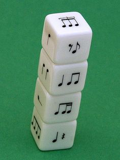 Rhythm Dice - Great idea for music teachers!
