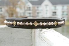 Harper by Pearl Bridle Art custom browbands. Order yours today!