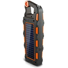 Orange Eton Raptor - camping gadget that does 19 things!! COOL!