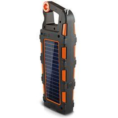 Orange Eton Raptor - camping gadget that does 19 things!! COOL!