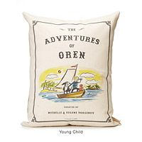 PERSONALIZED STORYBOOK PILLOW - ADVENTURE|UncommonGoods