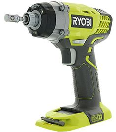 Ryobi One 1 4 Inch RPM Inch Pounds Lithium Ion Cordless Impact Driver Battery Not Included, Power Tool Only Renewed Driver Tool, Drill Driver, Revolutions Per Minute, Ryobi Battery, Cordless Hammer Drill, Must Have Tools, Impact Driver, Power Tools, Tool Kit