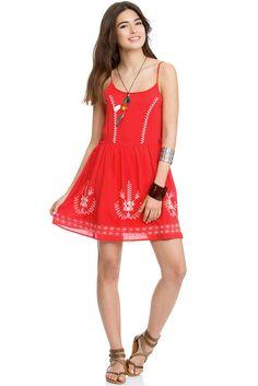 שמלת קמיגן רקומה