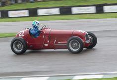 Historic #Maserati models on the race track.