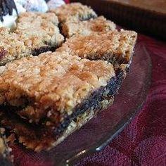 Chocolate Date Squares Recipe (Non-GMO, Non-Gluten, Low Sugar)