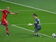 UEFA Champions League 2013, Robben match winner
