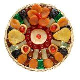 Broadway Basketeers Heart Healthy Floral Dried Fruit (Large) Gift Basket (Grocery)By Broadway Basketeers