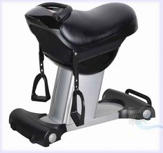 """Horse Riding Abdominal Trainer Training Workout Exercise Machine. Horse Riding Exercise Machine - Stomach Reducer, Weight Loss. New 2016 Model - Factory sealed! Includes Manual and 3 Fully Automated Workout Modes! 20 Speed Settings!. Up to 30 Min Timer for Timed Workouts. Overall Size: 35"""" x 17"""" x 30"""" (Length x Width x Height). Upgraded DC110v Motor (Stronger and longer lasting than AC110v). Power Requirements: 110v, 60hz (Standard US power plug) 150 Watts. Seat Color: Black. Adjustable..."""