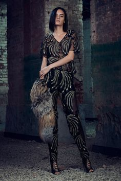 See the complete Sally LaPointe Pre-Fall 2017 collection.