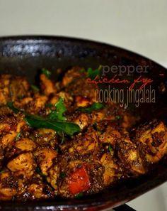 Pepper Chicken Fry | Milagu Kozhi Varuval | Chicken Pepper Fry Recipe