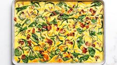 Sheetpan Frittata - The Easy Crustless Quiche That's There for You in a Pinch | Bon Appetit