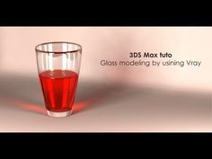 ▶ 3DS Max Glass modeling & rendering by using Vray - YouTube