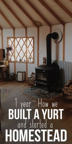 Developing Raw land into Permaculture Homestead in one Year- Part I - HomeSteading Ideas 2019 Yurt Living, Tiny Living, Homestead Farm, Homestead Survival, Building A Yurt, Yurt Home, Mini Farm, Urban Homesteading, Hobby Farms