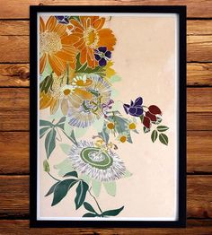 Powerful Flowers Art Print by Renee Garner on Scoutmob Shoppe