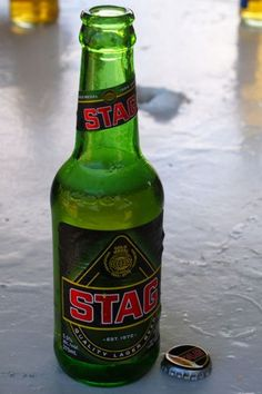 Friday Happy Hour: Stag Lager Beer, It's a Man Thing | Tobago | Uncommon Caribbean