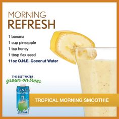 Morning Refresh Tropical Morning Smoothie
