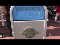 PUSH the Trash Can does Jaws, Indiana Jones at Walt Disney World