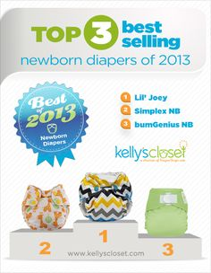 Best Newborn Cloth Diapers by far! I love lil Joey's, BG's and Swaddlebees! Kason wore them so cute