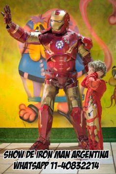 show de iron man argentina animacion infantil  facebook: show de iron man  wasap 11-40832214 con tony stark