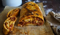 Please don't let the fact that this chorizo and cheese strudel bread isn't photogenic put you off at all. It's such a delicious savoury bread that I'm worried that nobody will make it because it doesn't look pretty enough. Chorizo sausage, cheese and tomato relish are rolled up in a bread dough-think crispy and crunchy on the outside but pillowy tender on the inside. And dearest, darling readers, this is a pushy recipe!