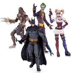 DC Collectibles Batman: Arkham Asylum: The Joker, Harley Quinn, Scarecrow and Batman Action Figure (4-Pack) DC Collectibles http://www.amazon.com/dp/B00IYDM1MU/ref=cm_sw_r_pi_dp_bV55tb180QGKJ