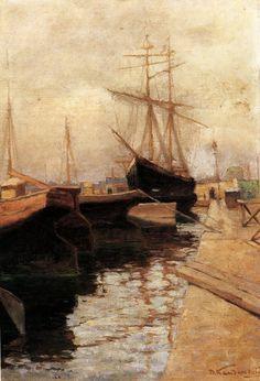 "Wassily Kandinsky - ""Odessa. Port"", 1898"