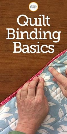 Quilt Binding Basics Made Easy National Quilters Circle is part of Sewing binding - Finishing a quilt with binding isn't a difficult thing to learn Check out these quilt binding basics from National Quilters Circle Quilting For Beginners, Sewing Projects For Beginners, Quilting Tips, Quilting Tutorials, Machine Quilting, Sewing Tutorials, Sewing Patterns, Quilting Projects, Machine Binding A Quilt