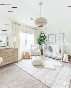 white decor Beautiful gender neutral nursery design with white walls and woodland decor - soft, modern, and a little bohemian. white decor Beautiful gender neutral nursery design with white walls and woodland decor - soft, modern, and a little bohemian. Baby Boy Nursery Room Ideas, Baby Room Boy, Baby Boy Nurseries, Vintage Nursery Girl, Baby Nursery Ideas For Girl, Simple Baby Nursery, Twin Baby Rooms, Ikea Baby Nursery, Girl Nursery Colors