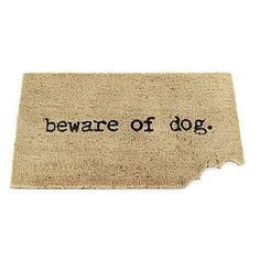 Need a good door mat for both houses, maybe something funny or cool? Not sure yet