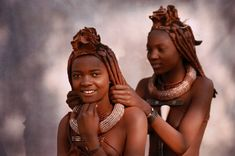 """Informative article: """"The Himba, a beautiful tribe of Namibia"""". Beautiful African Women, African Beauty, Beautiful Children, Himba Girl, Africa Tribes, Himba People, Native Girls, Africa People, Tribal African"""