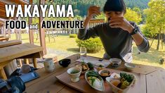 "Visiting Shimizu Onsen in Wakayama by Motorbike from Osaka! Beautiful natures, healthy yummy foods in ""Asagiri"" traditional Japanese restaurant (Konjac zen: Japanese Vegetarian food), and scary adventure at Zao-bashi (One of the most scary bridge in Wakayama)! It's less known place, but really fun to visit! Hope you enjoy traveling to Wakayama with me though [...] The post ""Konjac Zen"" at Shimizu Onsen and Scary Zao-bashi Bridge Adventure by Motorbike #289 appeared fi Wakayama, Travel Vlog, Mochi, Osaka, Motorbikes, Scary, Japan, Adventure, Motorcycles"