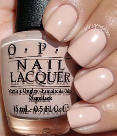OPI Fall 2015 Venice Collection (Tiramisu for Two) Opi Nail Colors, Nail Lacquer, Opi Nails, Gel Manicure, Manicures, Shellac, Neutral Nails, Super Nails, Trendy Nails