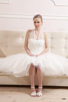 Krótkie suknie ślubne | Pracownia Sukien Ślubnych Poznań - Jolanta Duda-Koprowska