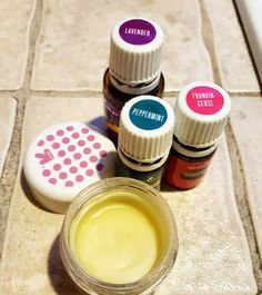 DIY Paw Balm with Essential Oils by Keep the Tail Wagging