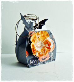 Halloween box, halloween; BloomCraft; scrapbooking; craft; handmade; Boxes, Container, Scrapbooking, Halloween, Mini, Blog, Handmade, Crafts, Crates