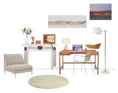 """Tangerine Fire"" by eveline ❤ liked on Polyvore featuring interior, interiors, interior design, home, home decor, interior decorating, Kay + Stemmer, John-Richard, LSA International and Piiroinen"