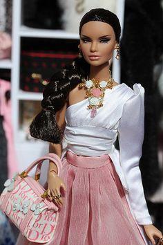 The Porcelain China Diane Refferal: 5263607505 Barbie Mode, Bad Barbie, Barbie Dress, Barbie Clothes, Fashion Royalty Dolls, Fashion Dolls, Fashion Outfits, Beautiful Barbie Dolls, Vintage Barbie Dolls
