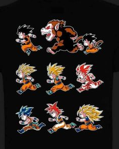 La evolución de goku/The evolution of goku