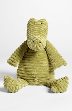 Jellycat 'Cordy Roy Alligator' Stuffed Animal available at new critter gift! Baby Boy Rooms, Baby Boy Nurseries, Kids Rooms, Baby Kind, Baby Love, Baby Baby, Alligator Nursery, Bird Nursery, Nursery Boy