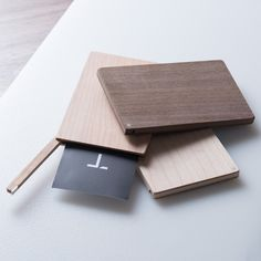 The Business Card Holder Flip, with its minimal design, is just large enough to protect up to 8 US standard business cards. It's a perfect gift for a recent graduate, or anyone looking to impress at their next big meeting. The warm wood design is ...