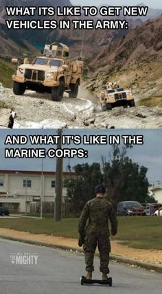 Marines do more with less, rah?