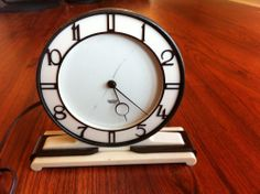 Vintage Smith's Electric Art Deco Clock Made In England $139