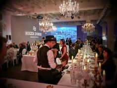 """Audrey World News: THE GREAT DINNER FOR ROGER DUBUIS """"HOMMAGE"""" COLLECTION WORLD PREMIERE - PART 1"""