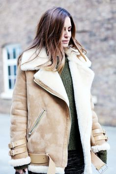 The Warm Winter Jacket Every Fashion Insider Owns via @WhoWhatWear