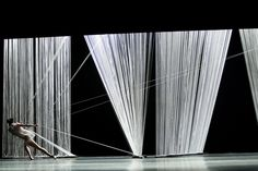 Architecture + Materials Popular Winner: Triangle of the Squinches - a Collaborative Ballet by HAAS Architecture antigone caught in the strings of fate -Ashley Set Design Theatre, Stage Design, Conception Scénique, Alonzo King, Der Boxer, Contemporary Ballet, Theater, Stage Set, Scenic Design