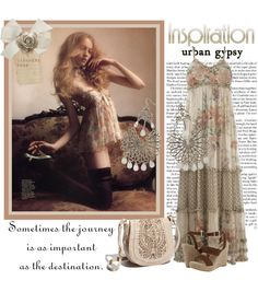 """""""~ Bohemian Chic ~"""" by cashmere-rose ❤ liked on Polyvore"""