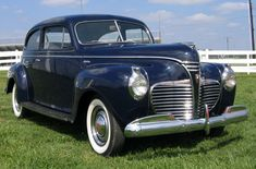 Classic cars on pinterest convertible sedans and for 1941 plymouth deluxe 4 door
