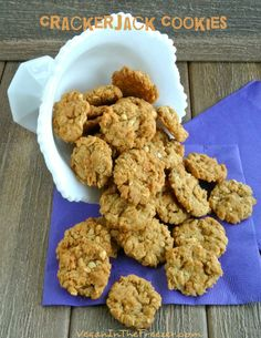 Crackerjack Cookies