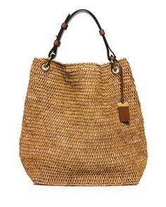 MICHAEL KORS Large Santorini Shoulder Bag. #michaelkors #bags #shoulder bags #leather