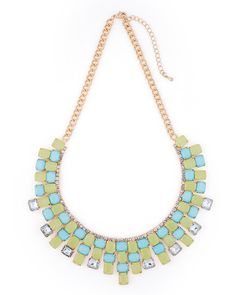 The Island Waters Necklace by JewelMint.com, $29.99